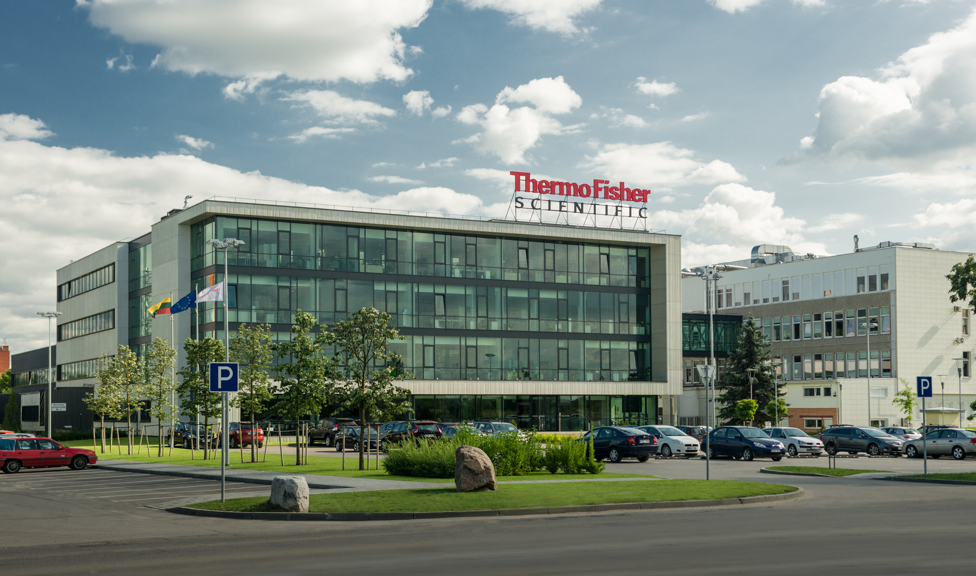 Thermofisher fasadas